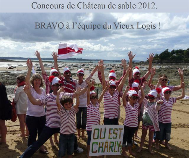 Concours Chateau de Sable 2012 à Saint-Briac sur Mer